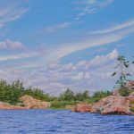 13.11 Island View, Georgian Bay at Killarney 12 x 24