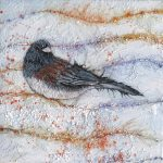 Col-Mitchell-paper-art-Candied-Junco1-all-rights-reserved