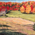 Autumn Farm Muskoka11x14_72