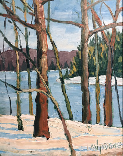 Winter on Lake of Bays11x14_72